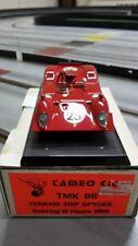 1/43 ferrari 312 p spyder Sebring 1969 tameo built megarare n/spark-amr-le mans