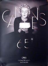 CANNES FILM FESTIVAL 2012 - MARILYN MONROE -ORIGINAL MEDIUM ROLLED FRENCH POSTER