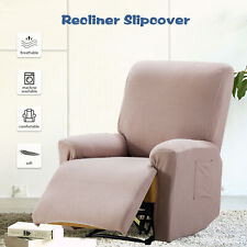 Recliner Chair Sofa Slipcover Stretch Fit Furniture Chair Recliner Camel Cover