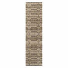Oriental Wavers Valora Deco Grey Rug, 60 x 180cm
