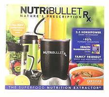 NutriBullet RX 1700-Watt 45oz Food Juice Blender Nutri-Bullet N17-1001 10 Pieces