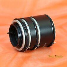 Albinar Extension Tube 3er Set 36 20 12 mm für Minolta MD X-700 XD-7