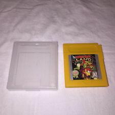 Donkey Kong Land 2 (Nintendo Game Boy) GB Game Cartridge w/Clear Case Vr Nice!