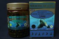 Wealthy Health Bio-Green New Zealand Green Lipped Mussel Powder 2500 180 caps