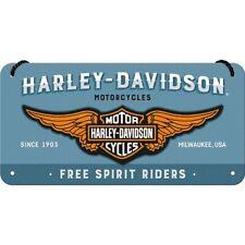 Harley Davidson The Original Ride geprägt 20x30 Blechschild Vintage 1655