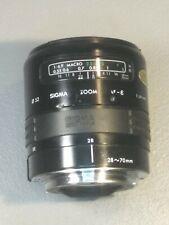Sigma Zoom 28-70mm AF-E 1:3.5-4.5 Autofocus 1:3.5-4.5 VG+