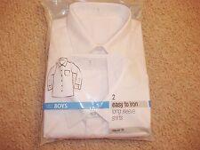 Polycotton School Shirt Uniforms (2-16 Years) for Boys