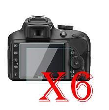 6 PZ PELLICOLA PROTEZIONE DISPLAY Nikon D3400 PELLICOLE PROTEGGI SCHERMO LCD