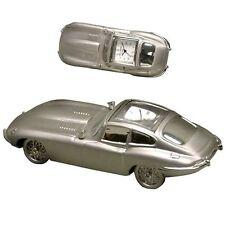 Miniature E Type Sports Car Novelty Quartz Movement Collectors Clock 9417