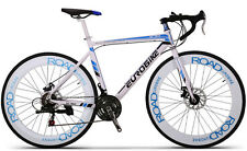 Brand New Cyber R760 Hybird 21 sp 70MM wheel road bike White&Blue