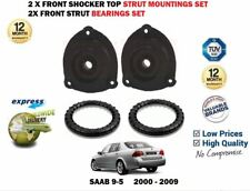 FOR SAAB 9-5 YS3E 2000-2009 NEW 2 X SHOCKER TOP STRUT MOUNTINGS + 2 BEARINGS SET