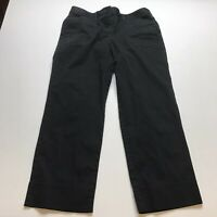 Loft Black Crop Capri Pants Womens Size 4 A1002