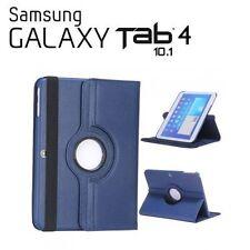 """COPERTURA TABLET PER SAMSUNG GALAXY TAB 4 10.1"""" T530 GIREVOLE 360º BLU SCURO"""