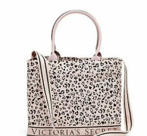 NWT Victoria's Secret Limited Edition Animal Print / Leopard Tote Beach Bag