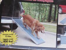 Solvit Deluxe Adjustable Telescoping Pet Dog Ramp Access