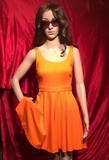 Woman Sport Dress Tennis Orange