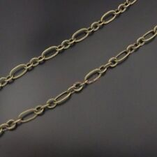 5M Vintage Style Bronze Tone Brass Unfinished Necklace Chains Findings 6*3*1mm