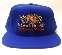 Vintage Maxwell House Racing Team SnapBack Hat Cap Adjustable 1994 NASCAR