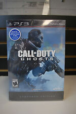 Call of Duty Ghosts Hardened Edition PlayStation 3 PS3 *BRAND NEW SEALED*