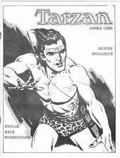 1970 fanzine TARZAN JUNGLE LORD Burne Hogarth Edgar Rice Burroughs - Opar Press