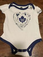 Baby bodysuit Newest fan Toronto Maple Leafs hockey One Piece jersey personalize