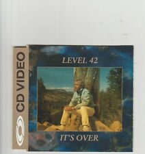 Level 42- It's Over UK cd Video Gold disc.