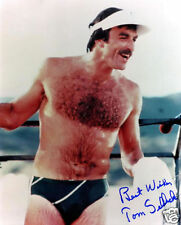 TOM SELLECK AUTOGRAPH SIGNED PP PHOTO POSTER