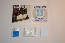 New! ASUS Motherboard Panel Q-Connector with USB Kit