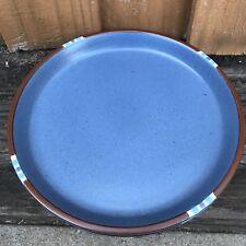 Set of 3 Dansk BLUE MESA PATTERN Dinner Plates MADE IN JAPAN