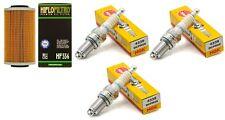 Sea-Doo PWC Oil Filter & Spark Plugs 4 tec GTI GTS GTR GTX SC RXP RXT RXPX RXTX