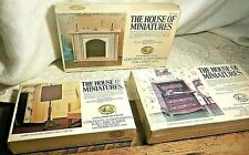 The House of Miniatures Chippendale Desk Dollhouse Furniture Kit X-ACTO #40017 +