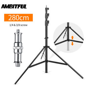 AMBITFUL 2.8m/9ft Heavy Duty Air cushion Light Stand Studio Video Light Stand