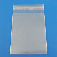 200 Clear Self Adhesive 7cm x 13cm Peel and Seal Plastic Bags for Small Obj W6H3