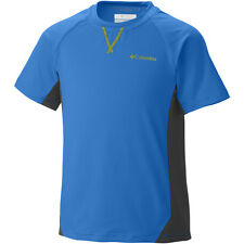 NEW Columbia Boys Silver Ridge Short Sleeve UPF 50 Tee Size Large 14/16