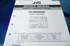 Servicio Manual de instrucciones para JVC ca-mxs6 bk, rx-mxg6 bk, original