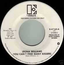 LEONA WILLIAMS You Can't Find Many Kissers ((**NEW UNPLAYED 45 DJ**)) from 1981