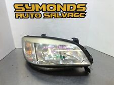 2002 Vauxhall Zafira A DRIVER SIDE OFF SIDE O/S LIGHT HEADLIGHT REF: C322
