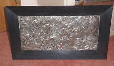WMF - große Reliefplatte/Metallbild - Jagd der Diana - 55 X 27 cm