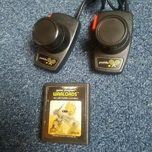 Atari 2600 Paddle Controllers - CX30 Paddles & Warlords Game Tested