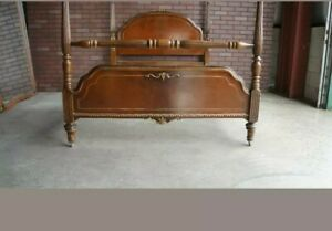 Antique/vintage  4 piece  Bed Set c. 1930 #4569