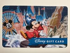 WALT DISNEY WORLD MICKEY FANTASMIC FERRIES WHEEL NEW GIFT CARD, NO CASH VALUE.