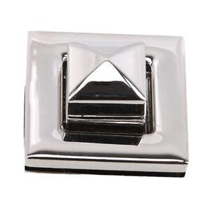 Twist Lock Bag Clutch Buckle Clasp For Women Handbag Hardware Accessory FM