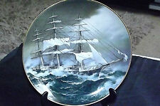 VINTAGE THE GREAT CLIPPER SHIPS COLLECTORS PLATE NIGHTINGALE  'L. PEARCE' C1981