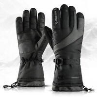 -40 ℃ Waterproof Fleece Ski Gloves Winter Warm Snowboard Thermal Motorcycle USA