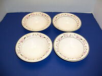"Martha Stewart MSE Lavender Hydrangea 4 Soup Cereal Bowls ( 6 ¾"") Very NICE"