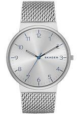 Skagen SKW6163 Men's Ancher Heavy Gauge 3-Hand Stainless Steel Mesh Band Watch