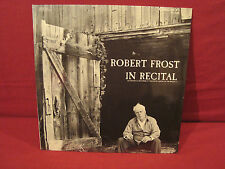 ROBERT FROST IN RECITAL NEW SEALED LP CAEDMON TC 1523
