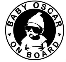 PERSONALISED BABY (s) STICKER Funny Caravan Bailey Swift Car Novelty Vinyl Decal