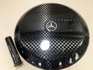 Mercedes G KLASSE Carbon - Schachbrett Reserverad Abdeckung Reserveradabdeckung