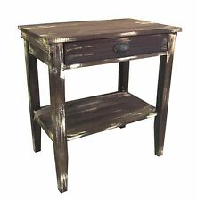 Rustic Timber Side Table or Bedside French distressed NEW